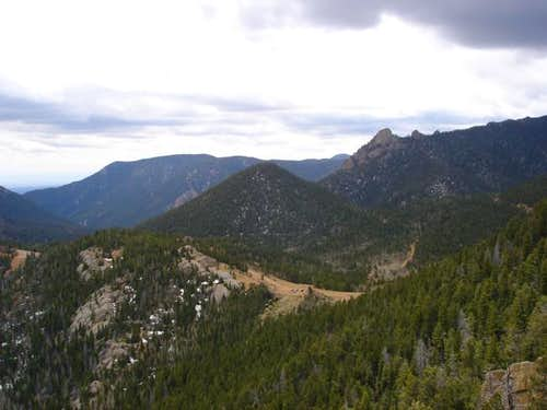 Sugarloaf Mountain (center),...