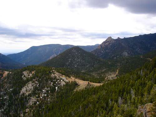 Sugarloaf Mountain (center),...