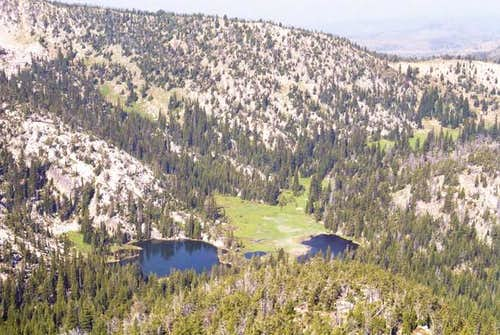The Hoffer Lakes Basin from...