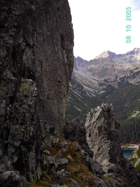 base of Igla in Osterwa,...
