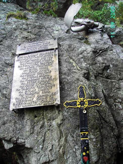 Symbolic cemetery under Osterwa