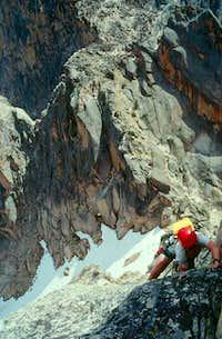 East Ridge Warbonnet Peak...