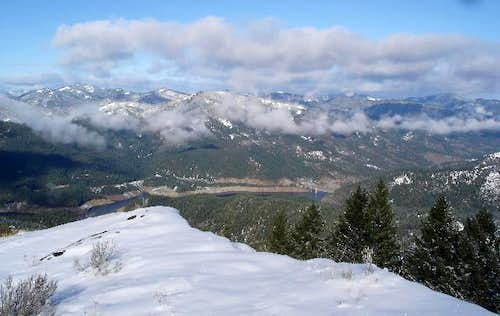 From Stein Butte looking west...