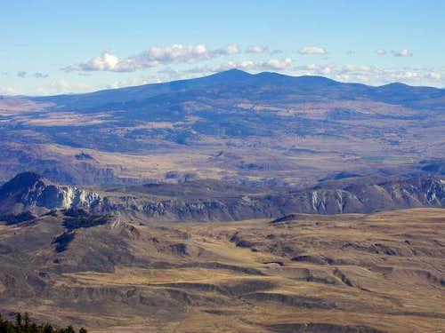 This photo of Mt. Bonaparte...