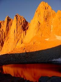 Sunrise at Iceberg Lake...