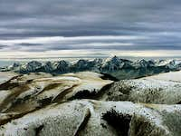 The Lemhi crest from the...