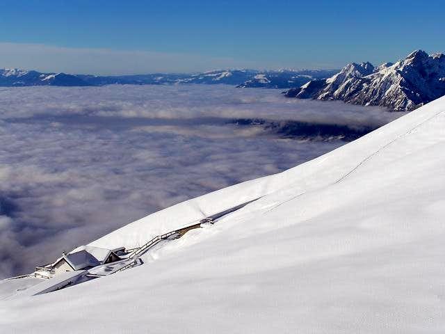 Ski tour to Monte Serva,...
