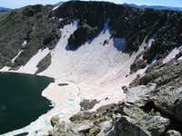 Highest Lake from Chief...