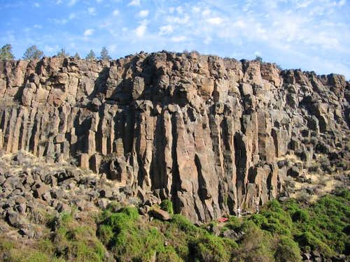 Lower Gorge's East Columns,...