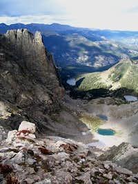 Notchtop Mountain looking NE...