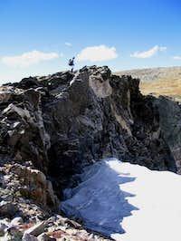 Overlooking Sprague Glacier....