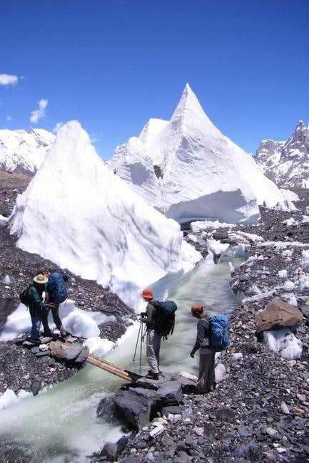 Baltoro Glacier, temperary...