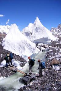 Baltoro Glacier, temperary...
