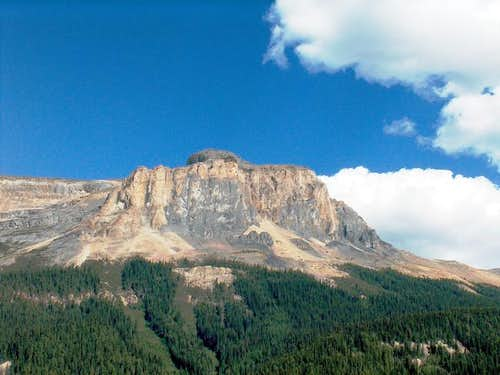 Wapta Mountain from Emerald...