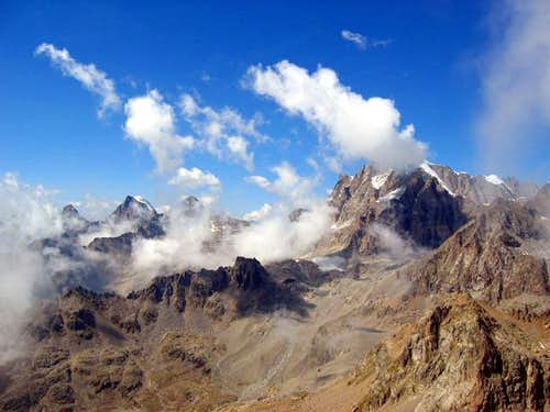 Gran Paradiso seen from the...
