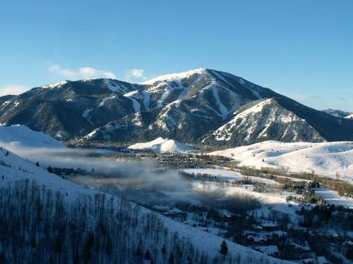 Bald Mountain from the slopes...
