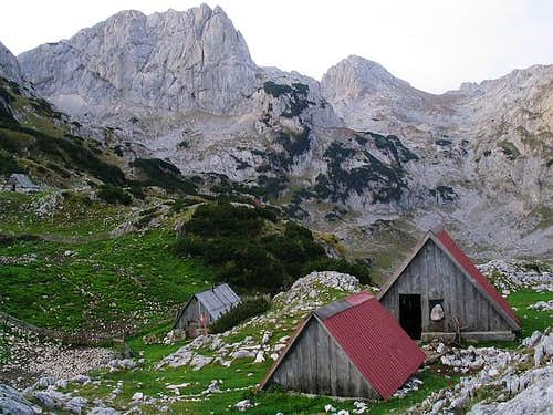 Lokvice Shelter (1800 m) is...