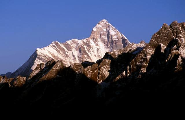 nanda devi from the west photos diagrams amp topos