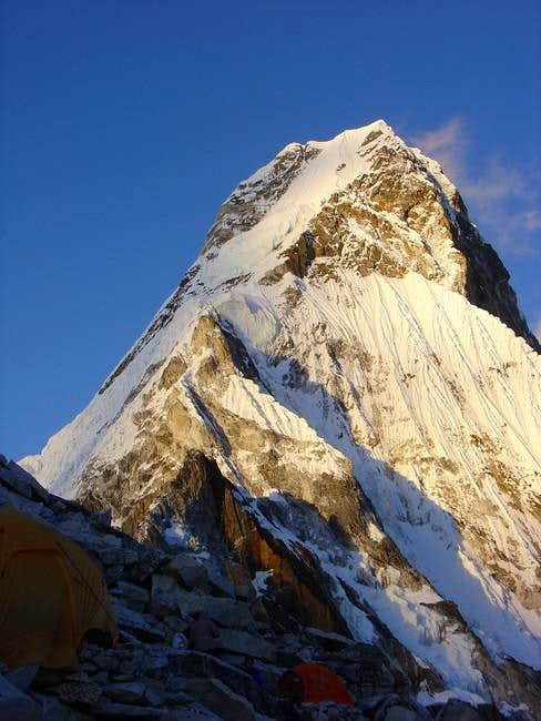 View of Ama Dablam from Camp...