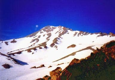 Shasta - direct west face...