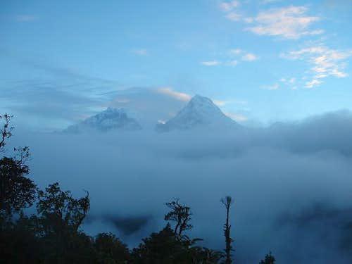 Annapurna and Annapurna South...