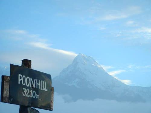 Annapurna South from Poon Hill