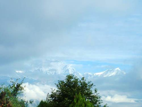 Dhaulagiri from Poon Hill...