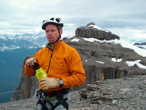 The summit of Castle Mountain...