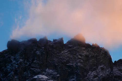 La Meije: Central ridge