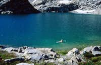 A Dip in White Rock Lakes