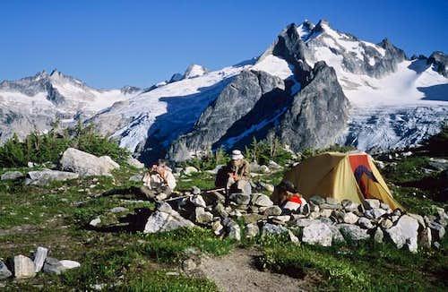 White Rock Lakes Camp.