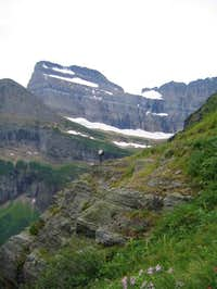 On the Grinnell Glacier trail...