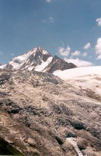 View of the Aiguille du...