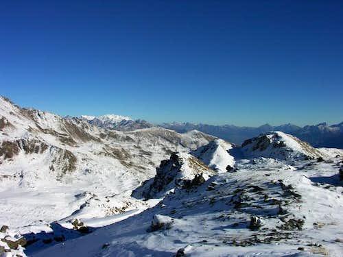 Il massiccio del Monte Rosa...