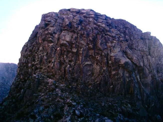 The top of Cantaro Magro....