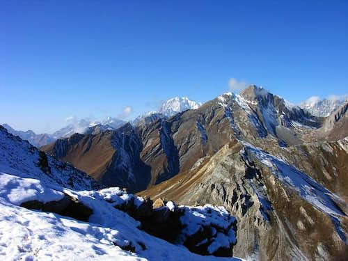 View from Colle di Corleans:...