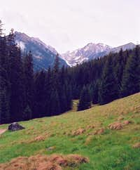 Waksmundzka Valley seen from...