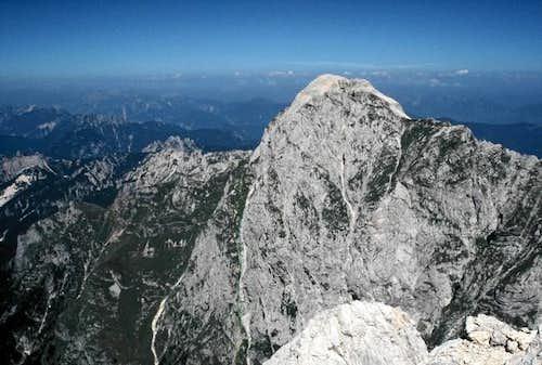 Mangart seen from top of...
