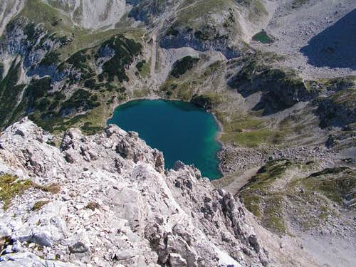 Drachensee (dragon lake) seen...