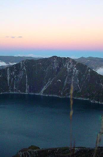 Quilotoa summit (Courtesy of...