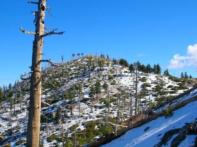 Bighorn Peak as seen Dec. 11,...
