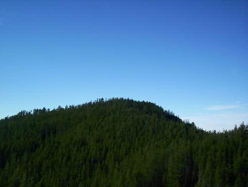 Pine Mounatin as seen from...