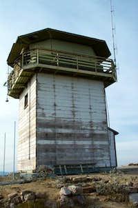 Summit Tower in disrepair.