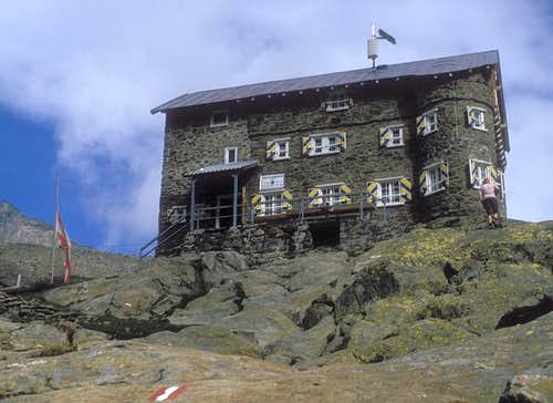Siegerland hut (September 1987)