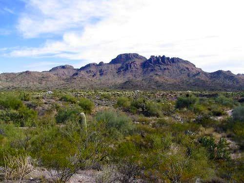 Vulture Peak as seen from...