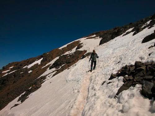 100m down the top of Jbel...