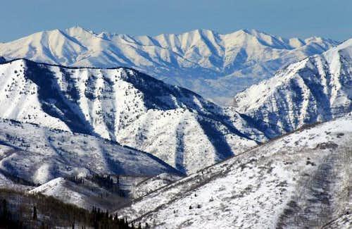 East side of Lowe Peak...
