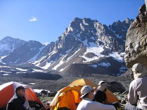 View from Piedra Grande camp....