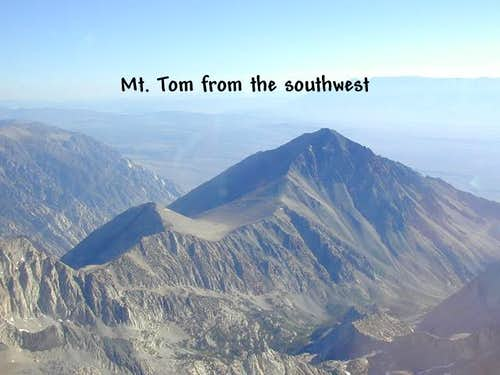 An aerial of Mt. Tom from...