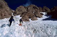 Ascending Cerro Negro in a...